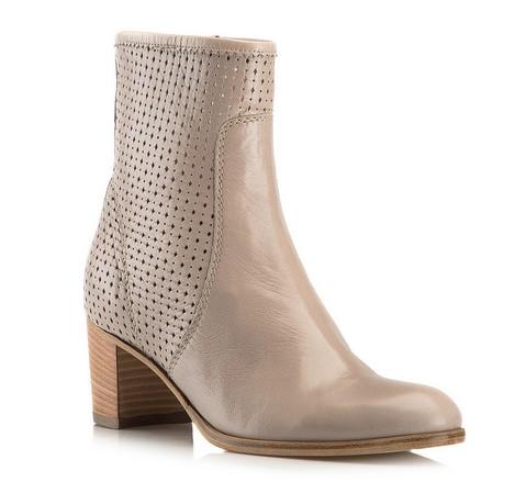Buty damskie, beżowy, 80-D-107-5-35, Zdjęcie 1