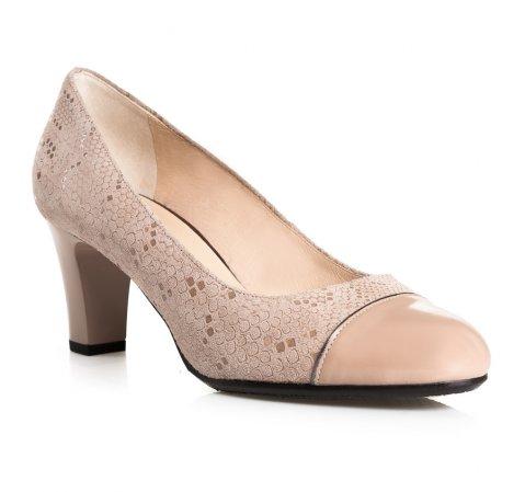 Buty damskie, beżowy, 84-D-853-9-36, Zdjęcie 1