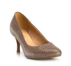 Buty damskie, ciemny  beż, 80-D-510-8-37, Zdjęcie 1