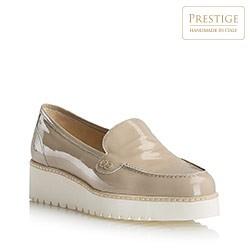 Buty damskie, beżowy, 80-D-116-9-39, Zdjęcie 1