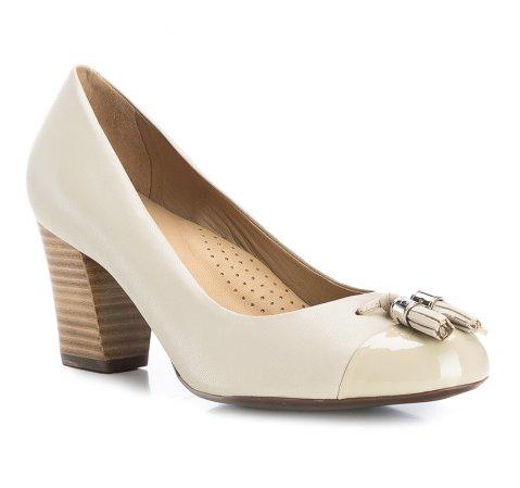 Buty damskie, jasny beż, 84-D-704-9-35, Zdjęcie 1