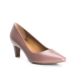 Buty damskie, zgaszony róż, 84-D-703-9-38, Zdjęcie 1
