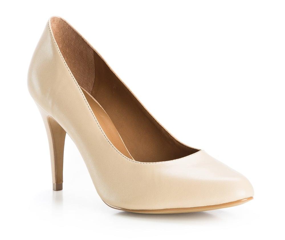 Обувь женскаяТуфли женские класические.Изготовленные по технологии Hand Made и выполнены полностью из натуральной итальянской кожи наивысшего качества. Подошва сделана из качественного синтетического материала. Сочетание классических высоких каблуков каждый раз по разному создает уникальный и модный  образ.<br><br>секс: женщина<br>Цвет: бежевый<br>Размер EU: 37<br>материал:: Натуральная кожа<br>примерная высота каблука (см):: 8