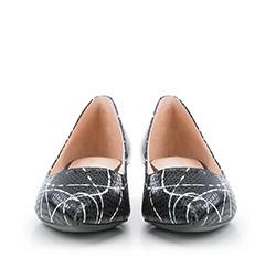 Women's ballerina shoes, black, 84-D-602-1-37, Photo 1