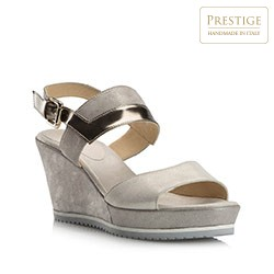 Women's shoes, grey, 80-D-117-0-40, Photo 1