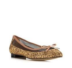 Buty damskie, beżowo - złoty, 80-D-211-9-37, Zdjęcie 1