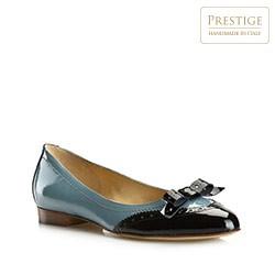 Buty damskie, czarno - niebieski, 80-D-109-8-38_5, Zdjęcie 1