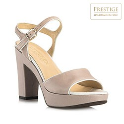 Buty damskie, beżowy, 80-D-126-5-38_5, Zdjęcie 1