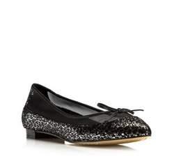 Buty damskie, czarno - srebrny, 80-D-212-1S-39, Zdjęcie 1