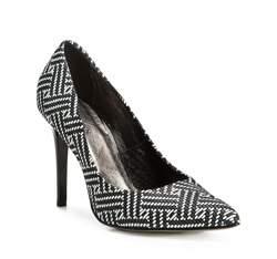 Buty damskie, czarno - biały, 83-D-200-1W-40, Zdjęcie 1