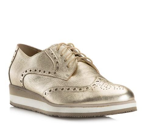 Buty damskie, złoty, 80-D-114-G-35, Zdjęcie 1