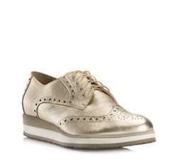 Buty damskie, złoty, 80-D-114-G-37, Zdjęcie 1
