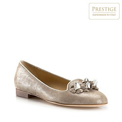 Buty damskie, beżowy, 80-D-123-5-38, Zdjęcie 1