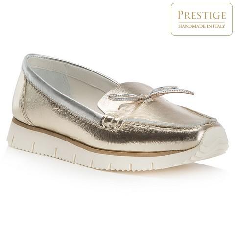Buty damskie, złoty, 82-D-150-G-40, Zdjęcie 1