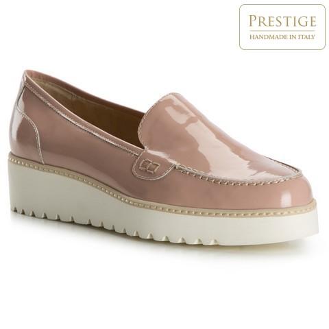 Buty damskie, pudrowy róż, 82-D-103-P-39_5, Zdjęcie 1