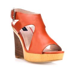 Buty damskie, pomarańczowy, 80-D-807-5-41, Zdjęcie 1