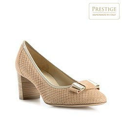 Women's shoes, beige, 82-D-106-9-37, Photo 1