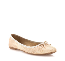 Women's ballerina shoes, gold, 84-D-801-G-37, Photo 1