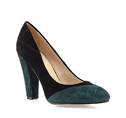 Buty damskie, zielony, 80-D-218-Z-41, Zdjęcie 1