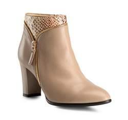 Buty damskie, beżowy, 81-D-609-9-41, Zdjęcie 1