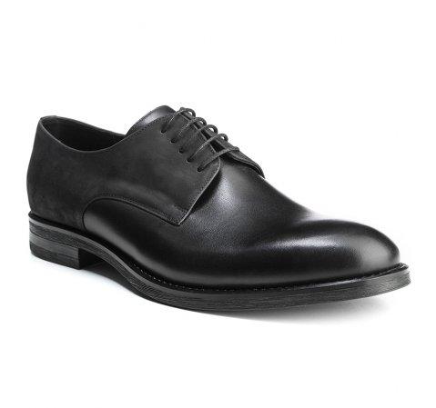 Buty męskie, czarny, 85-M-600-1-39, Zdjęcie 1
