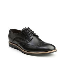 Buty męskie, czarny, 85-M-601-1-41, Zdjęcie 1