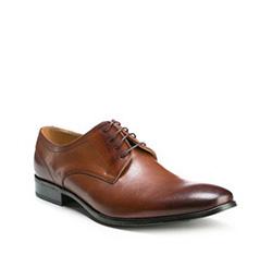 Buty męskie, brązowy, 85-M-602-5-43, Zdjęcie 1