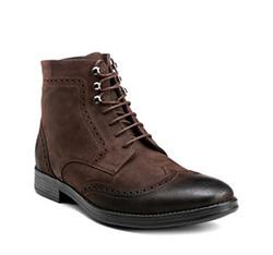 Buty męskie, brązowy, 85-M-605-4-42, Zdjęcie 1