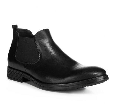 Buty męskie, czarny, 85-M-606-1-39, Zdjęcie 1