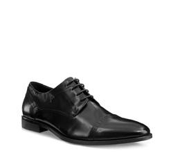 Buty męskie, czarny, 85-M-805-1-41, Zdjęcie 1