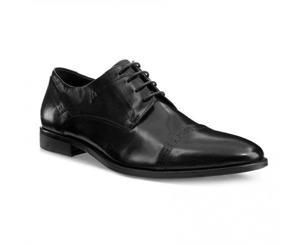 Обувь мужскаяМужские ботинки выполнены по технологии \hand made\ из лучшей итальянской кожи. Подошва полностью сделана из качественного синтетического материала.<br><br>секс: мужчина<br>Цвет: черный<br>Размер EU: 43<br>материал:: Натуральная кожа<br>примерная высота каблука (см):: 2