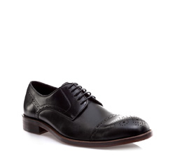 Buty męskie, czarny, 85-M-809-1-39, Zdjęcie 1