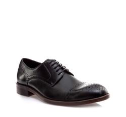 Buty męskie, czarny, 85-M-809-1-43, Zdjęcie 1