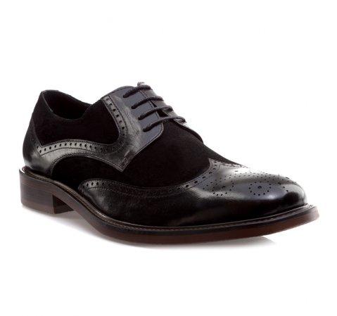 Buty męskie, czarny, 85-M-810-1-39, Zdjęcie 1