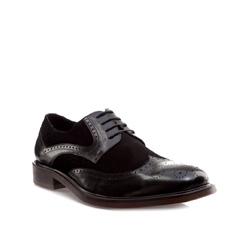 Buty męskie, czarny, 85-M-810-1-44, Zdjęcie 1