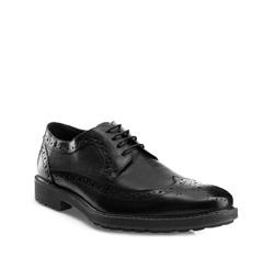 Buty męskie, czarny, 85-M-811-1-45, Zdjęcie 1