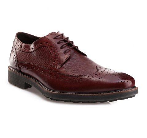 Buty męskie, wiśniowy, 85-M-811-2-39, Zdjęcie 1