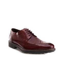 Buty męskie, wiśniowy, 85-M-811-2-44, Zdjęcie 1