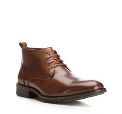 Buty męskie, brązowy, 85-M-816-4-39, Zdjęcie 1