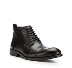 Buty męskie, czarny, 85-M-817-1-39, Zdjęcie 1