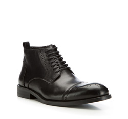 Buty męskie, czarny, 85-M-817-1-40, Zdjęcie 1