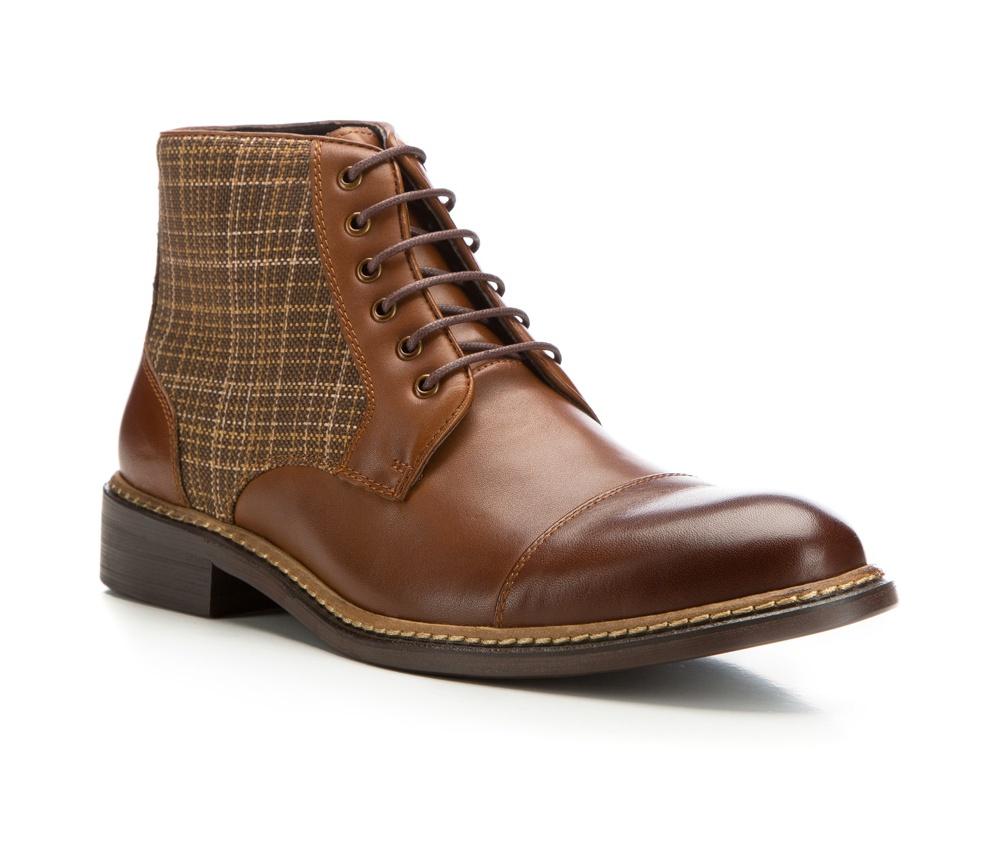 Обувь мужскаяМужские штиблеты выполнены по технологии \hand made\ из лучшей итальянской кожи. Подошва полностью сделана из качественного синтетического материала.<br><br>секс: мужчина<br>Цвет: коричневый<br>Размер EU: 41<br>материал:: Натуральная кожа<br>примерная высота каблука (см):: 3,5