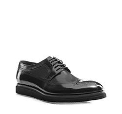 Buty męskie, czarny, 85-M-901-1-45, Zdjęcie 1