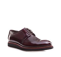 Men's shoes, cherry, 85-M-901-2-41, Photo 1