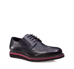 Men's shoes, graphite, 85-M-904-7-42, Photo 1