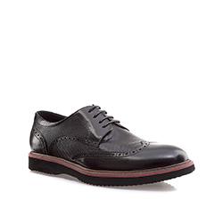 Men's shoes, black, 85-M-906-1-43, Photo 1