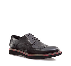 Buty męskie, czarny, 85-M-906-1-44, Zdjęcie 1