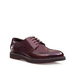 Men's shoes, cherry, 85-M-906-2-45, Photo 1