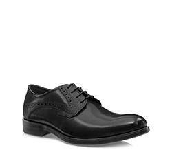 Buty męskie, czarny, 85-M-907-1-39, Zdjęcie 1