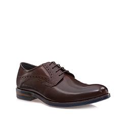 Buty męskie, brązowy, 85-M-907-4-43, Zdjęcie 1